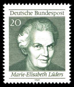 Quelle: https://de.wikipedia.org/wiki/Marie-Elisabeth_Lüders